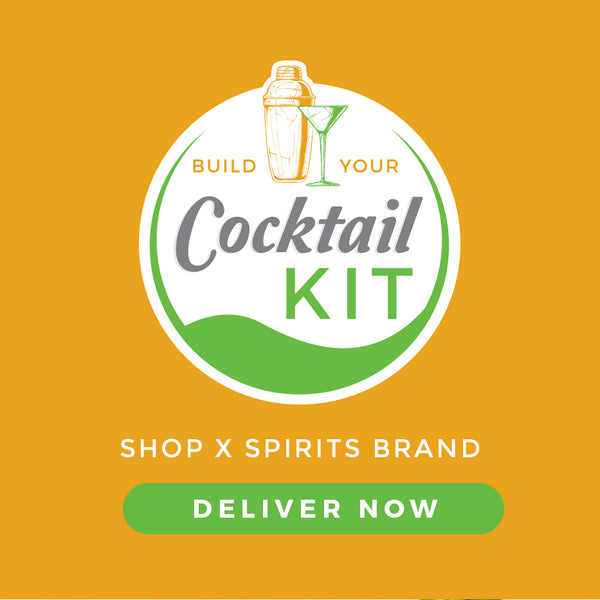 Build Your Own Cocktail Kit - Menu Page - Sourced: Craft Cocktails Delivered