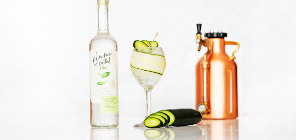Plume & Petal Cucumber Splash Spritz - Sourced: Craft Cocktails Delivered