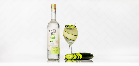 Plume and Petal Cucumber Splash Spritz - Sourced: Craft Cocktails Delivered