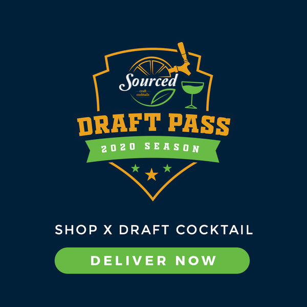 Draft Pass - Menu Page - Sourced: Craft Cocktails Delivered