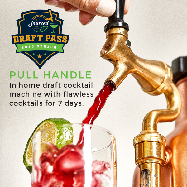 Luck's Gold Rush Draft Cocktail - Sourced: Craft Cocktails Delivered