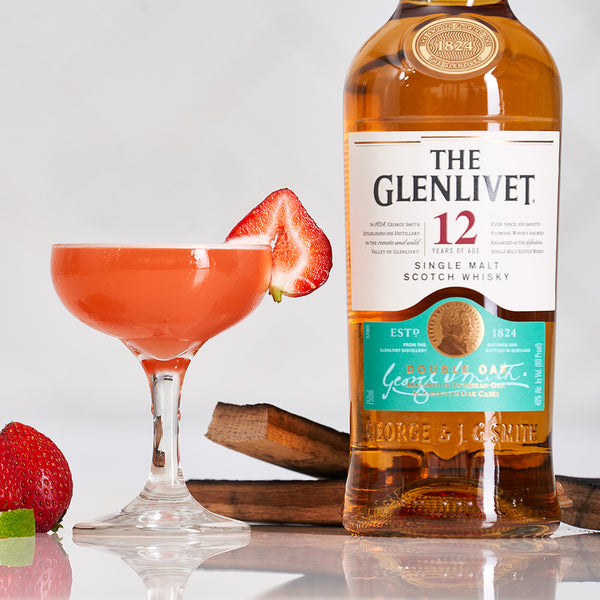 The Glenlivet 12 Year Old Rare Ole Strawberry - Sourced: Craft Cocktails Delivered