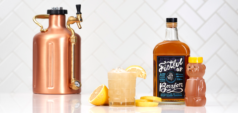 Fistful of Bourbon Gold Rush - Sourced: Craft Cocktails Delivered