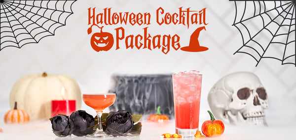 Halloween Cocktail Package - Sourced: Craft Cocktails Delivered