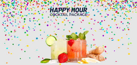 Sourced Happy Hour Package - Sourced: Craft Cocktails Delivered
