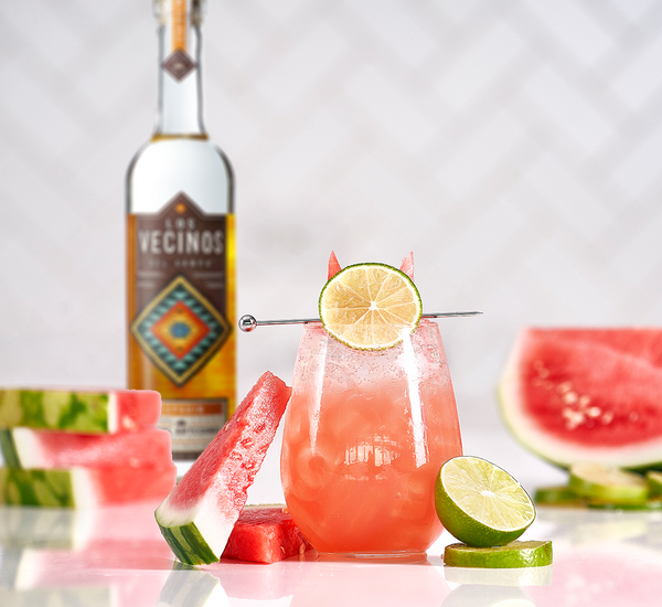 Spicy Mezcal Watermelon Cooler - Sourced: Craft Cocktails Delivered