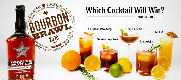 Garrison Brothers Bourbon Brawl Kit - Sourced: Craft Cocktails Delivered