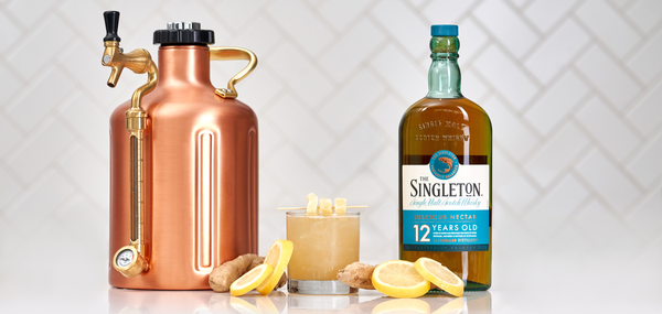 The Singleton of Glendullan 12yr Penicillin - Sourced: Craft Cocktails Delivered