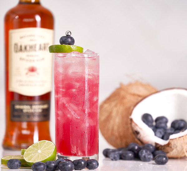 Rhythm and Blueberries - Sourced: Craft Cocktails Delivered