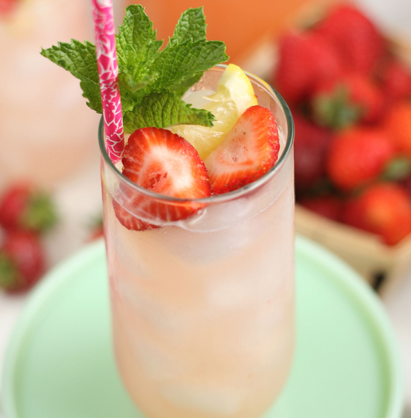 Virtual HH Example's Strawberry Fields Forever Mocktail