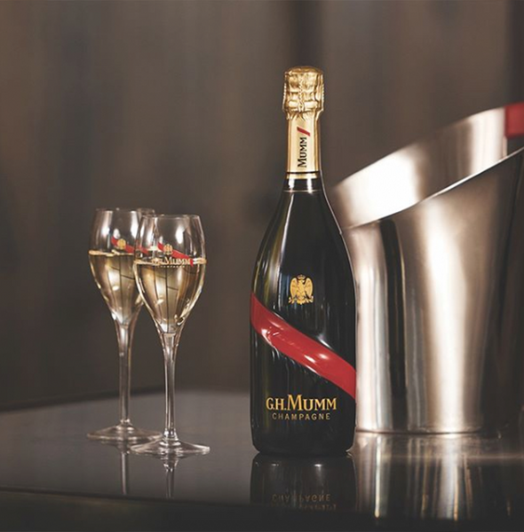 G.H. Mumm Grand Cordon - Sourced: Craft Cocktails Delivered
