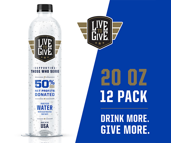 Live To Give Premium Purified Bottled Water