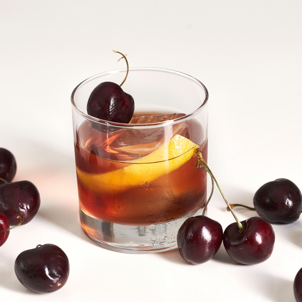 Antique Black Cherry Old Fashioned - Sourced: Craft Cocktails Delivered