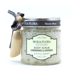 DEAD SEA SALT BODY SCRUB LEMONGRASS & LAVENDER 250ML