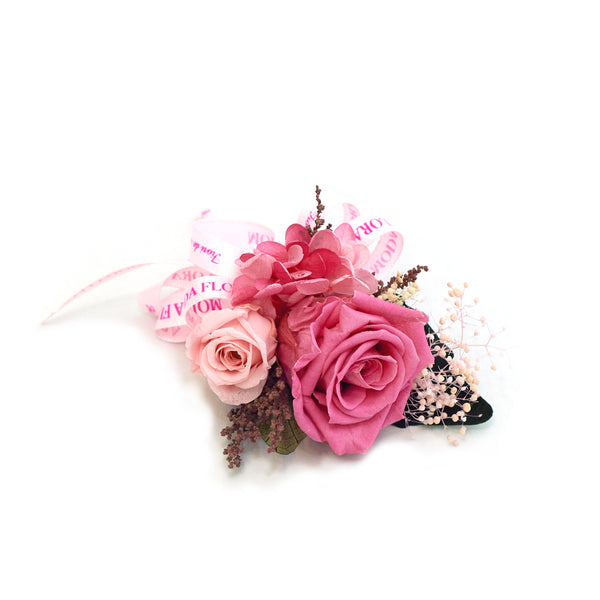 Mini Baby Rose Corsage Cherry - MODA FLORA