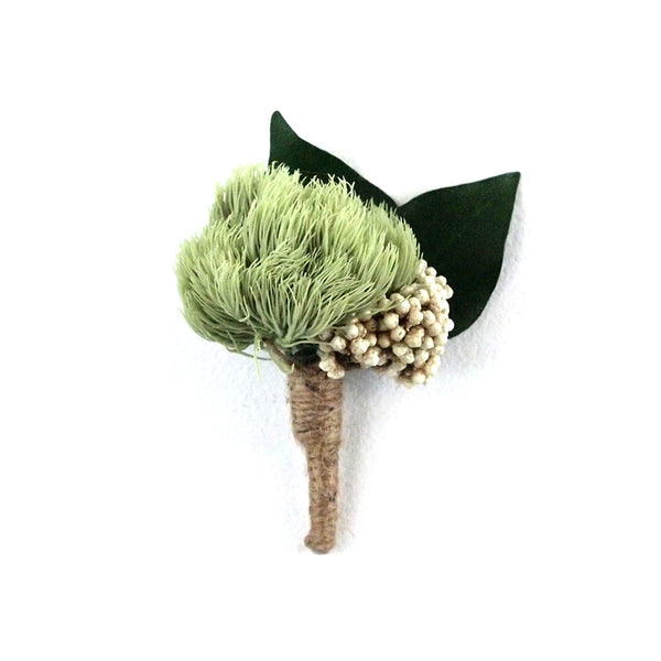 Green Ball Corsage - MODA FLORA