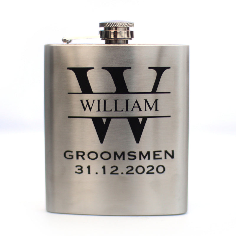 Personalised Stainless Steel Flask