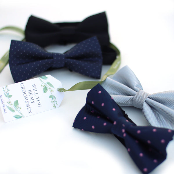 Personalised Groomsmen Bowtie gift box
