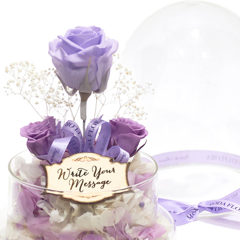 The Little Princess- Lilac - MODA FLORA