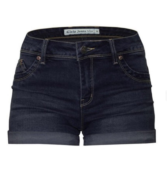 Denim Perfection Stretch Shorts