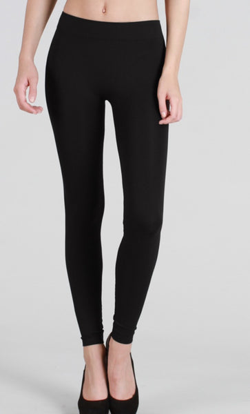 Heavy Solid Long Leggings