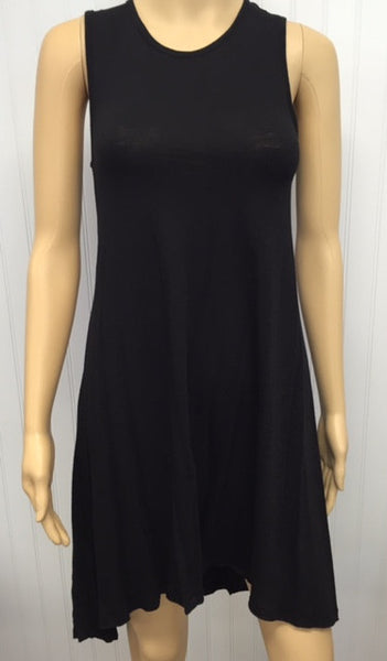 Harmony Black Tank Dress