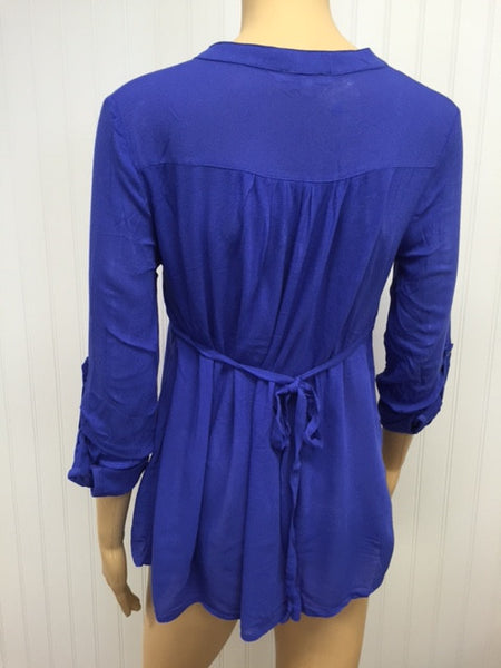 Tie Back Flare Tunic