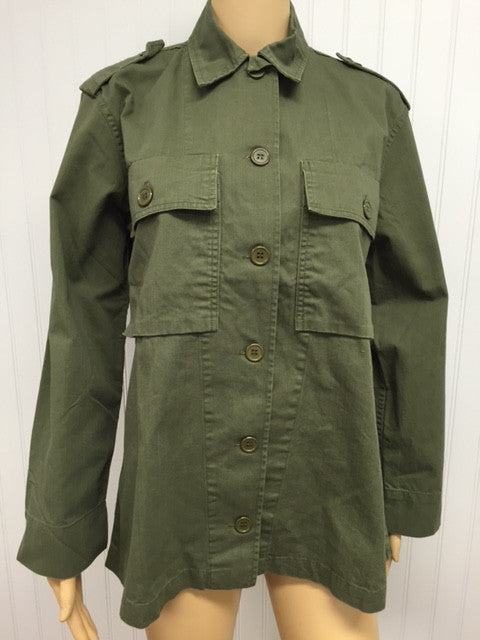 Plain Jane Army Jacket