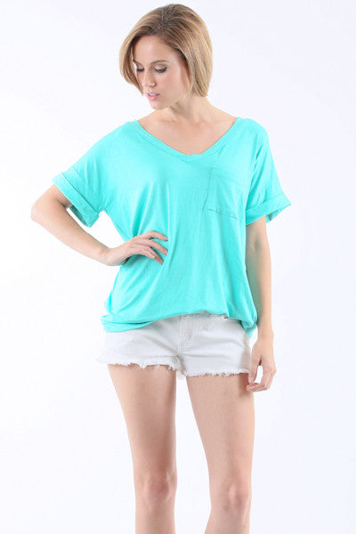 Short Sleeve with Pocket Top