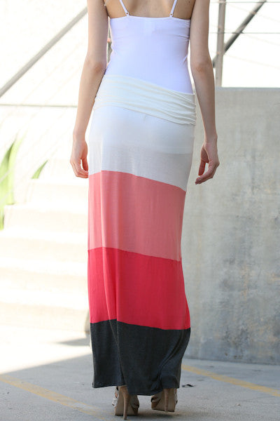 Multi Colored Long Skirt