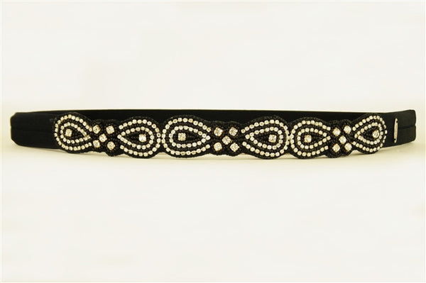 Stretch Band with Nylon Elastic and Beading