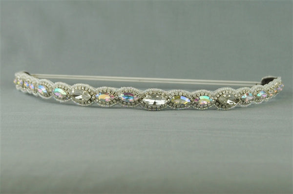 Stretch Band with gems, rhinestones and Seed Beads