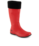 Butterfly Twists Windsor Rain Boots Red