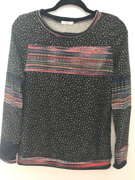 Long Sleeve Lightweight French Terry Top