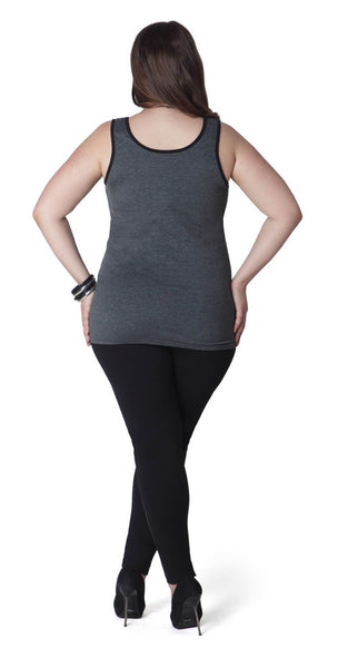 Grey Tank with Black Piping