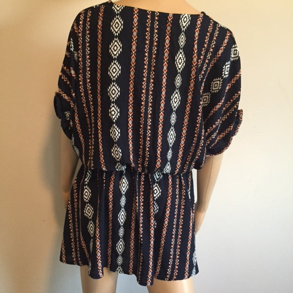 Navy Resort Tunic