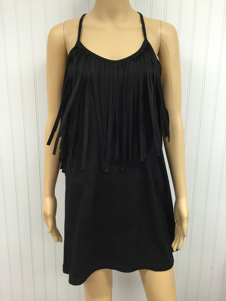 Emmy Lou Fringe Sleeveless Tunic