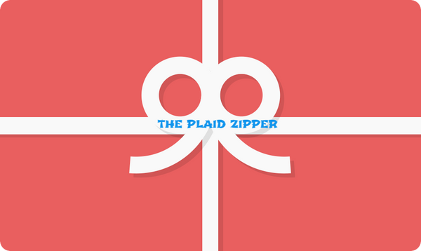 THE PLAID ZIPPER GIFT CARD