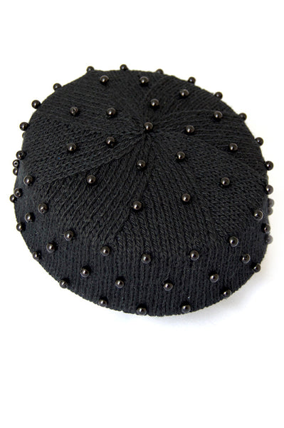 The Darla Pillbox Hat in Black