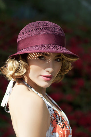 Lola Cloche Hat in the Bluff