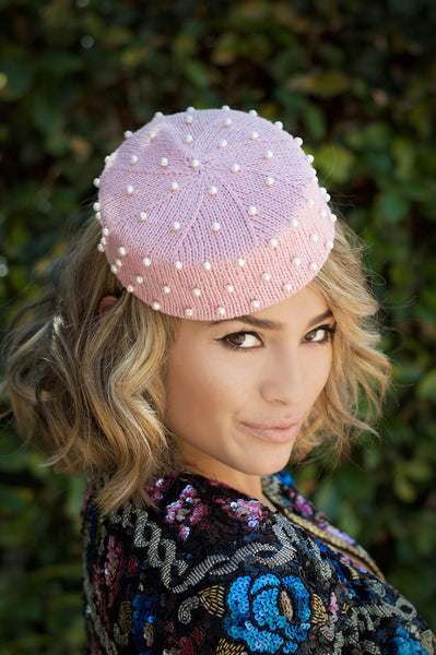 The Darla Pillbox Hat in Tessie Pink Product