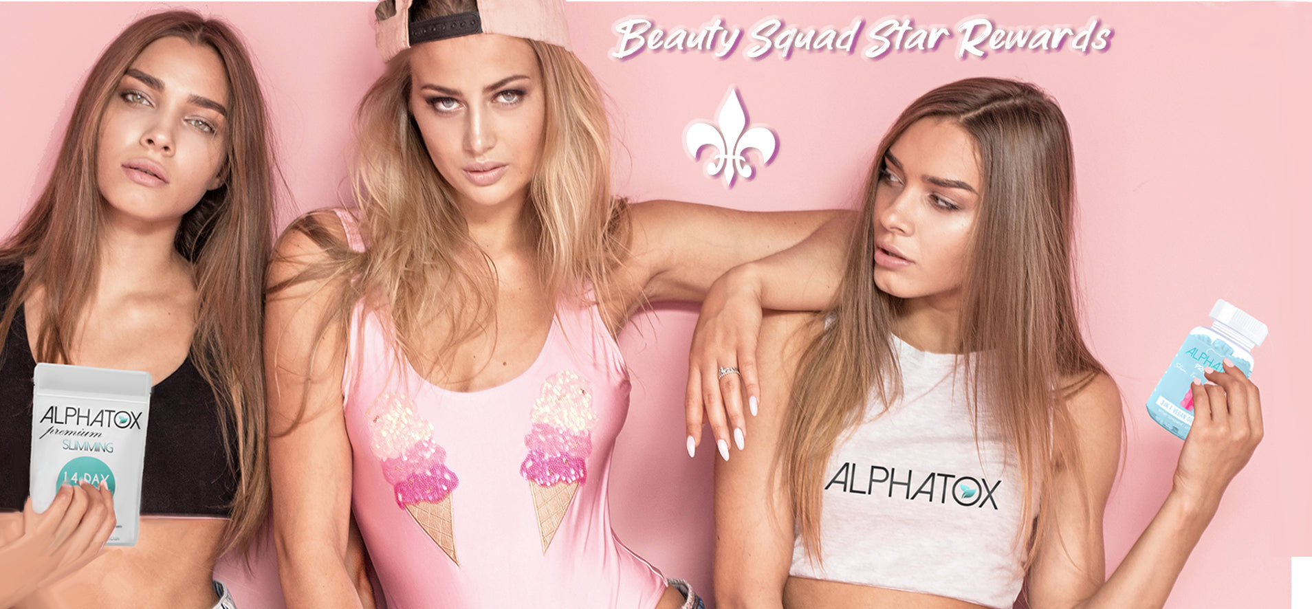 Join The Alphatox Glam Squad! Join VIP Star Rewards Today! It's Free, You Earn to Shop, Share Alphatox via FB & Twitter, and IG! Redeemable for Alphatox Premium Flat Tummy Teas, Blends, Coffee, and Gummy Bears! Daily Deals ass Well! Try The #1 Weight Loss Slimming All Natural Products Online Today & Earn While Doing So!