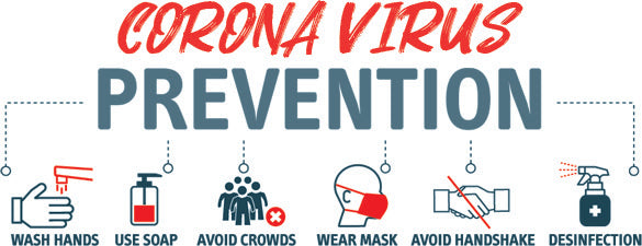 Corona Virus Prevention Tips & How To Stay Safe