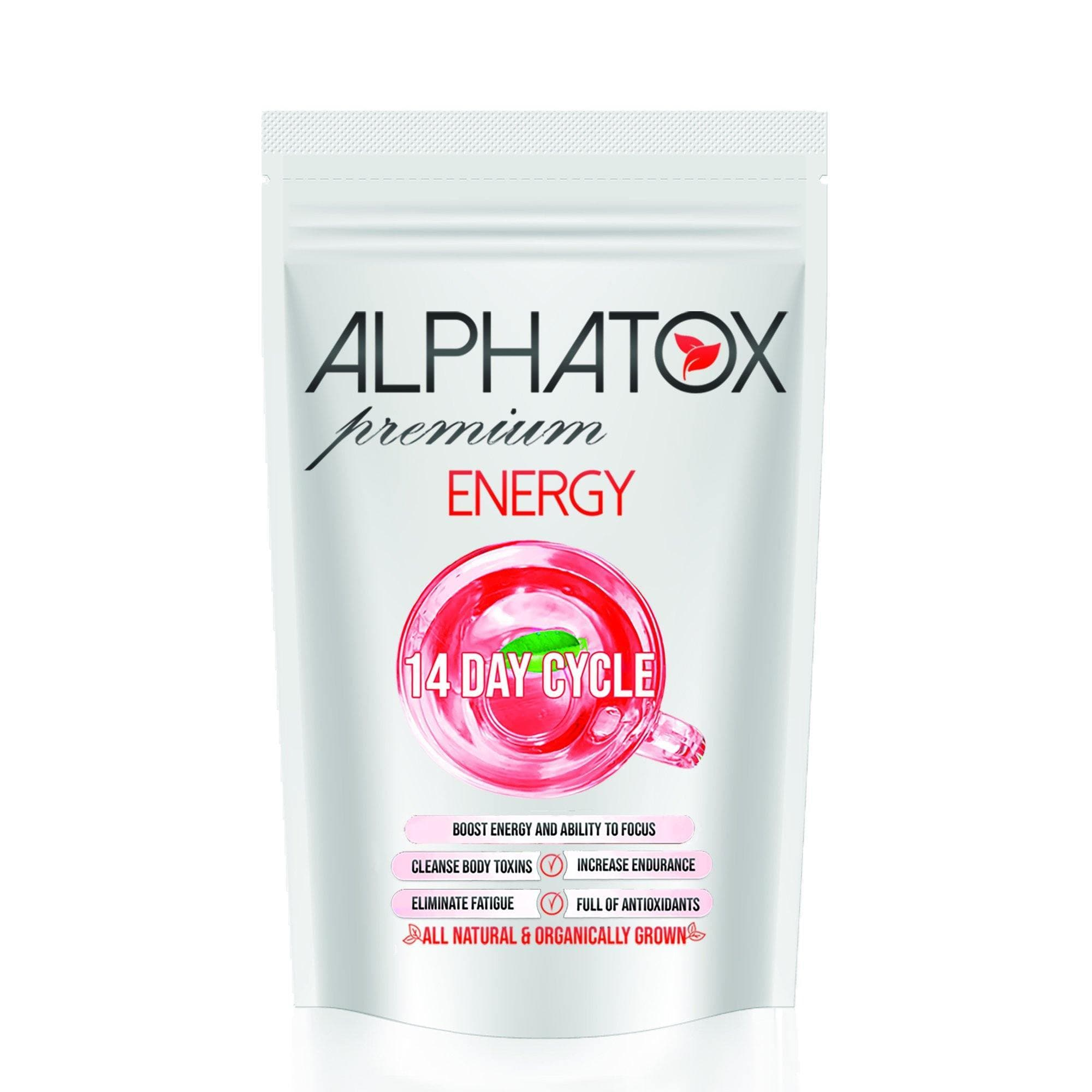 Alphatox Energy and Focus Tea ( 14 Day ) - Alphatox Premium Fitness Teas