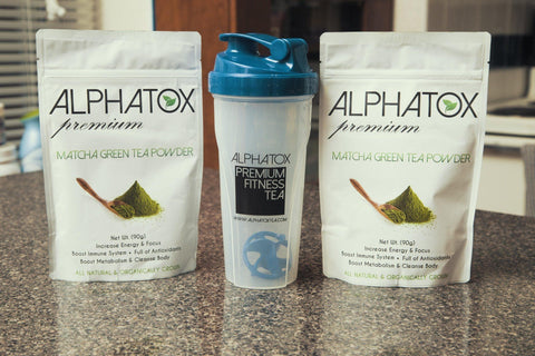 Alphatox Matcha Tea - Alphatox Premium Fitness Teas - #1 Rated For Over 5 Years! - Free 1-2 Day Shipping - Weight Loss Teas For Women & Men. Fat Burning Tea Infused Serums. Slimming, Skinny Gummy Bears, & More!