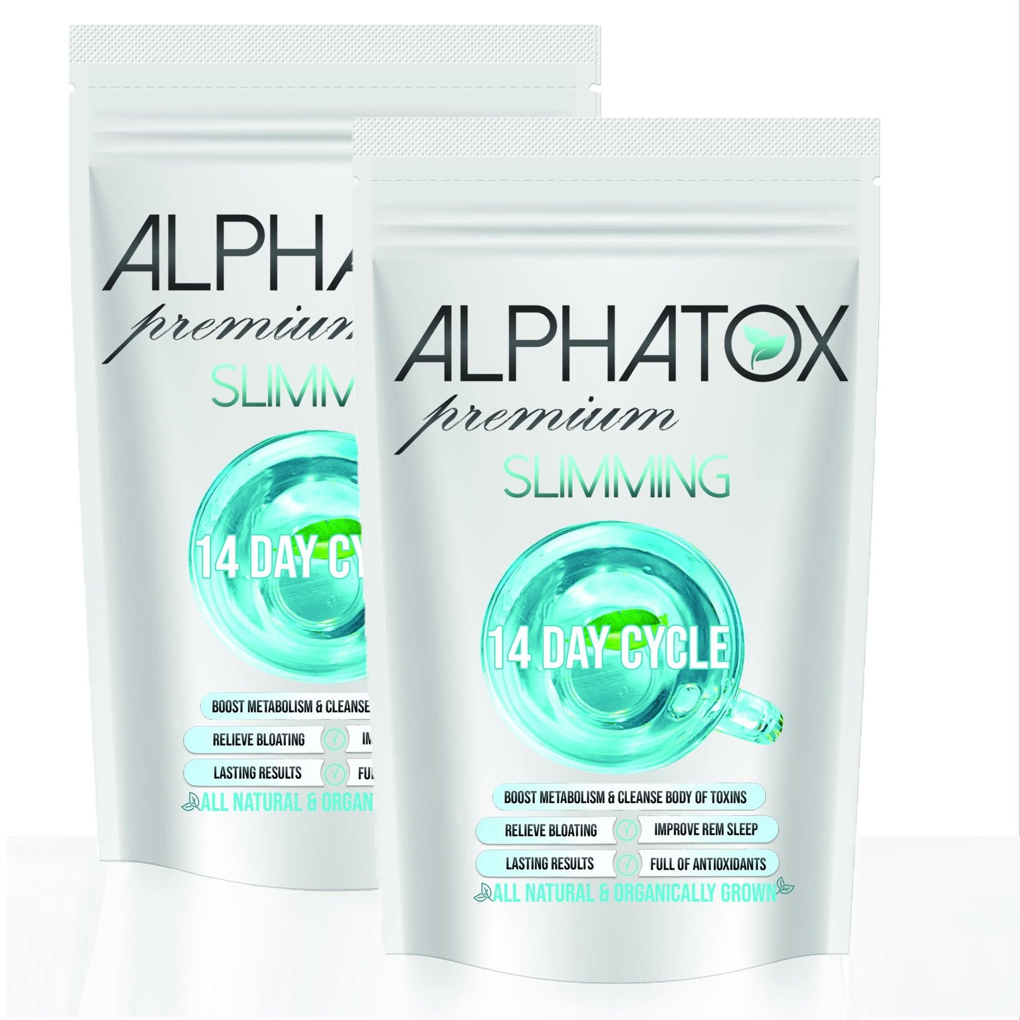 Alphatox Slimming Tea (28 Day) - Alphatox Premium Fitness Teas