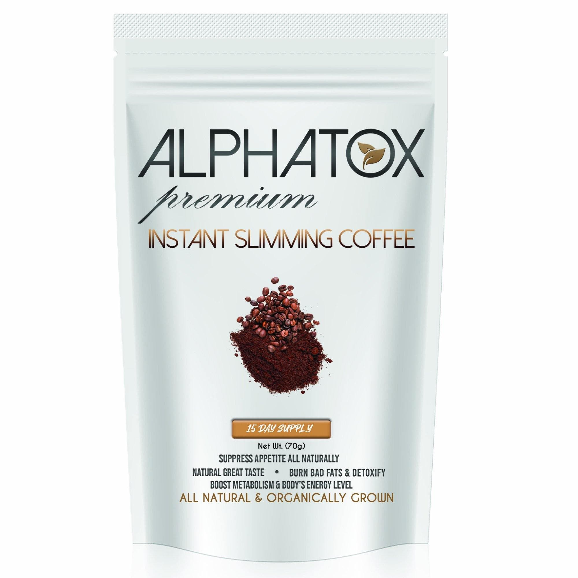 Alphatox Slim Coffee Powder (15 Day) - Alphatox Premium Fitness Teas