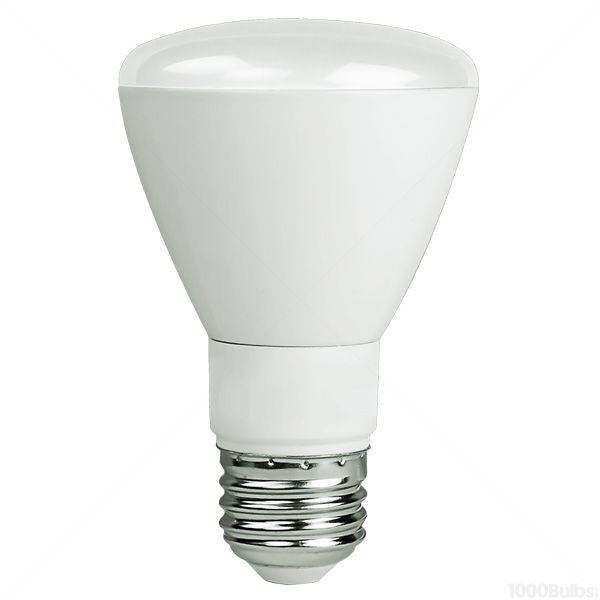 50 Watt Equivalent, 2700K, Soft White, 8 watt, Dimmable, LED R20