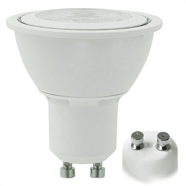 50 Watt Equivalent, 4000K, Cool White, 7.5 Watts, Dimmable, CRI>80