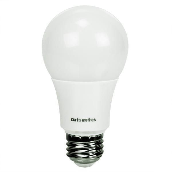 60 Watt Equivalent, 4000K, Cool White, 9.5 Watt, Dimmable, LED A19